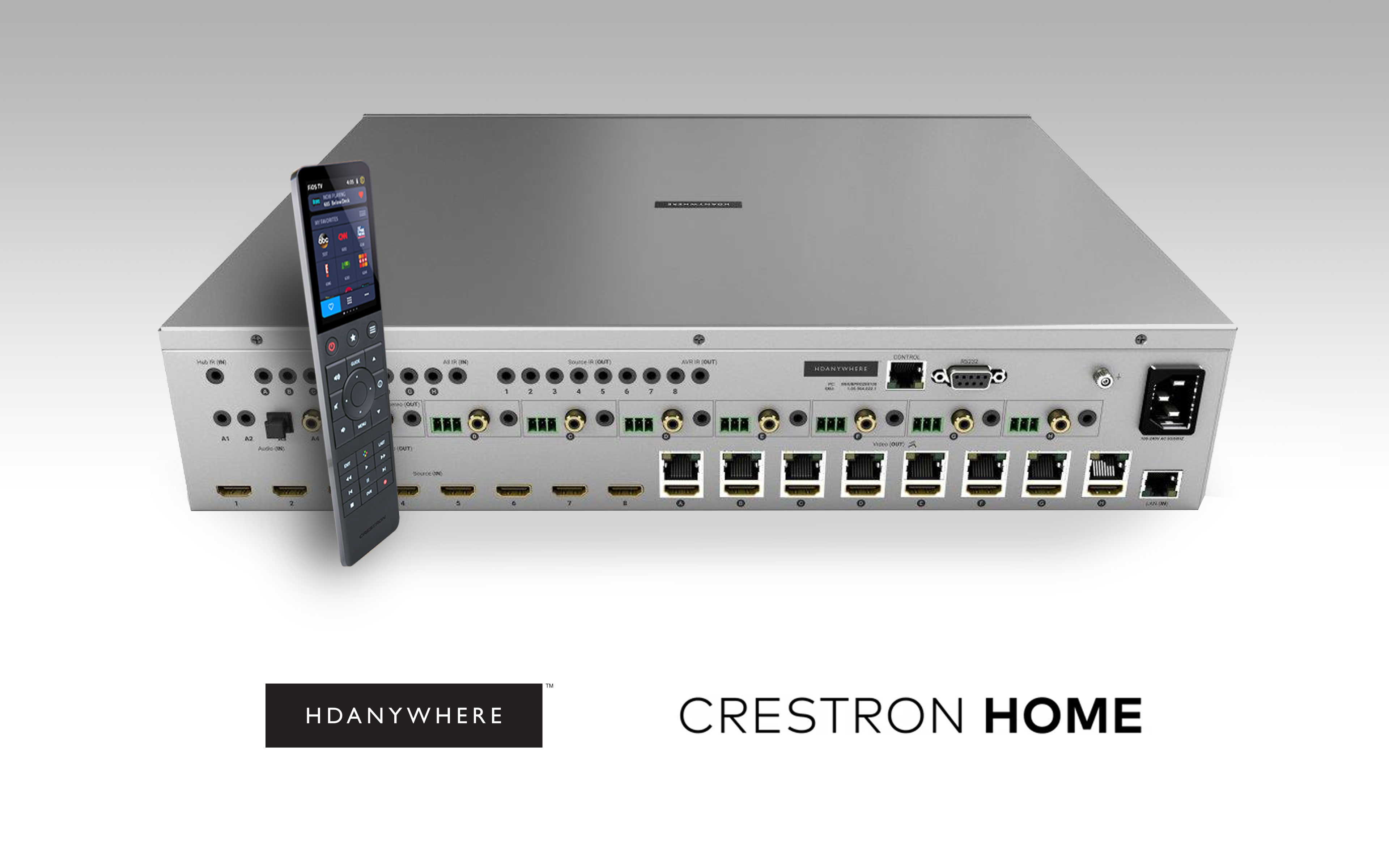 crestron home hero